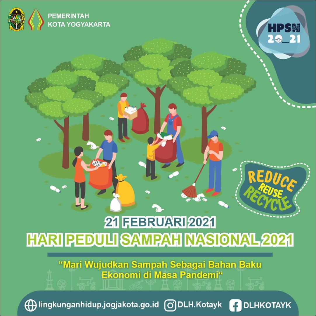 Hari Peduli Sampah Nasional (HPSN) tahun 2021 Kota Yogyakarta