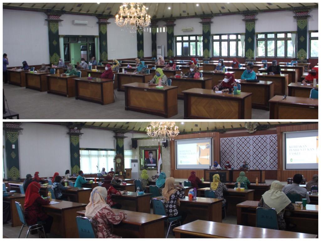 Pembekalan Fasilitator Kelurahan Pengelolaan Sampah Mandiri Kota Yogyakarta Tahun 2021