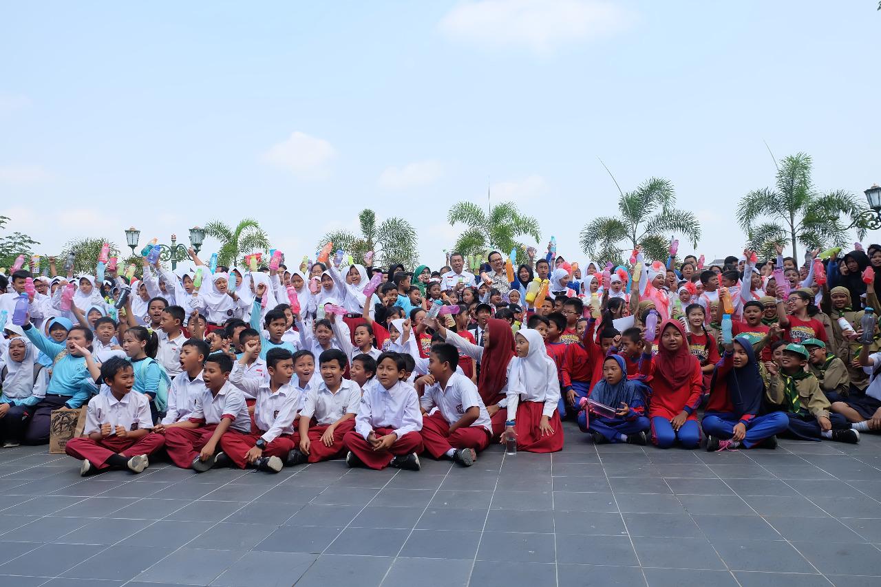 Deklarasi Gerakan 1000 Tumbler oleh Walikota Yogyakarta