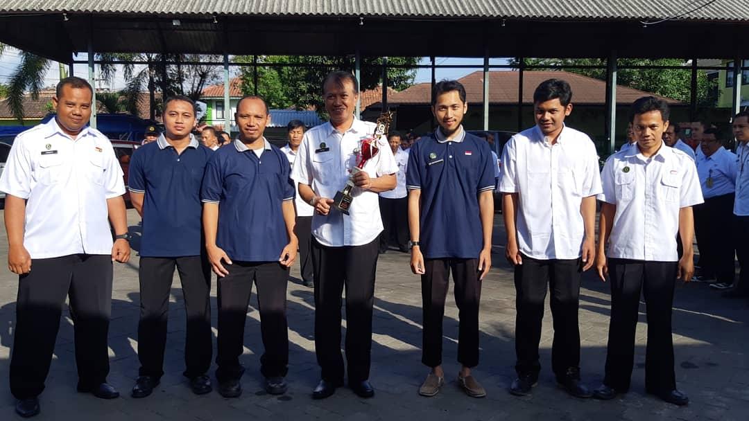 Juara II Lomba Gerak Jalan Beregu Putra PORKAR 2018