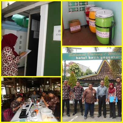 Verifikasi Tempat Penyimpanan Sementara ( TPS ) Limbah B3 Hotel Batik