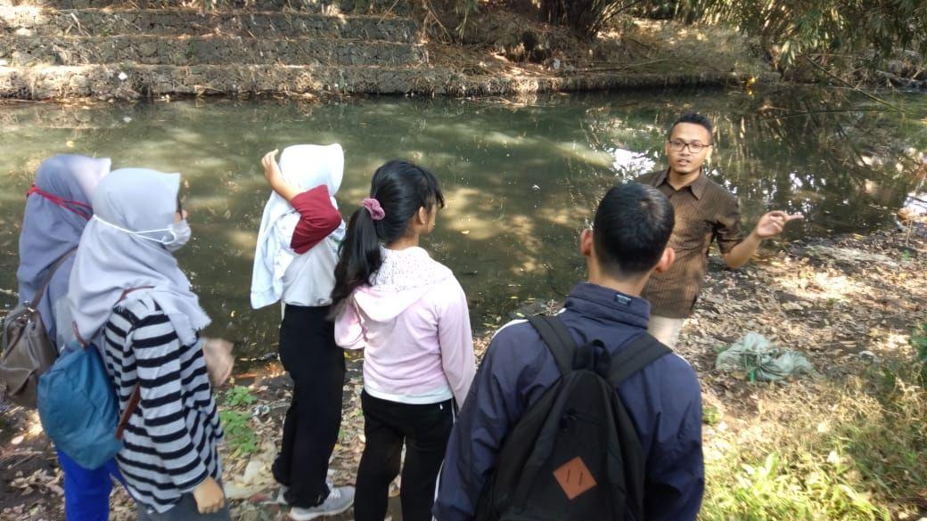 Pelatihan Saka Kalpataru - Observasi Sungai dan Uji Pencemaran Sungai